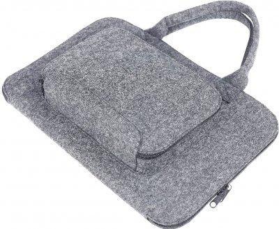 Сумка для ноутбука Gmakin GS01-15 для Macbook Air/Pro 13.3 Grey (GS01-15)