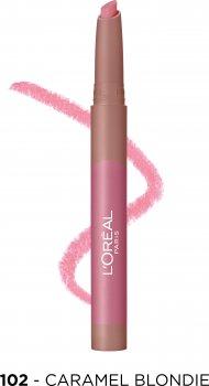 Помада-олівець для губ L'Oreal Paris Matte Lip Crayon відтінок 102 1.3 г (3600523793839)
