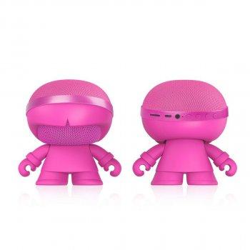 Акустика Xoopar - Xboy Glow (12 Cm, Рожева, Bluetooth, Стерео, Сс Mp3-Програвачем З Sd-Карти)