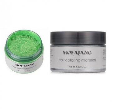 Забарвлює віск для волосся Mofajang Зелений (A1037)