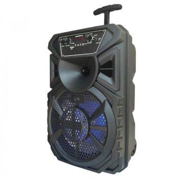 Портативная беспроводная акустическая система AILIANG LIGE 1711 Bluetooth колонка чемодан Black (LIGE-1711)