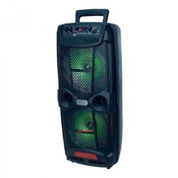 Портативная беспроводная акустическая система AILIANG LIGE 2806 Bluetooth колонка чемодан Black (LIGE-2806)