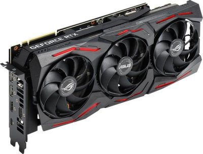 Відеокарта GF RTX 2070 Super 8GB GDDR6 ROG Strix Gaming OC Asus (ROG-STRIX-RTX2070S-O8G-GAMING)