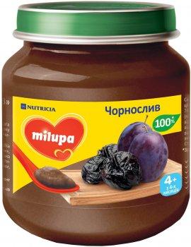 Упаковка фруктового пюре Milupa Чорнослив з 4 місяців 6 шт. х 125 г (8591119003768)