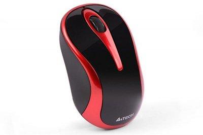 Миша бездротова A4Tech G3-280N Black/Red USB V-Track