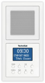 Вбудований радіо TechniSat DIGITRADIO UP 1 біле (0001/3900)