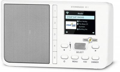 Цифровий радіоприймач TechniSat STERNRADIO IR 1 білий (0001/3960)