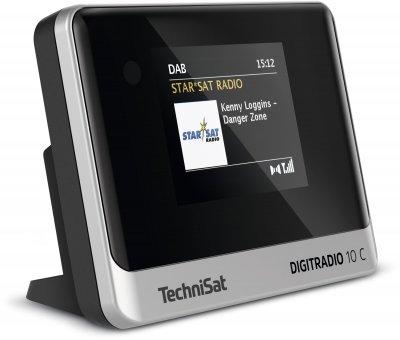 Цифрове радіо TechniSat DIGITRADIO 10 C чорно-сріблястій (0000/3945)