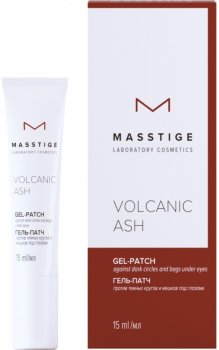 Гель-патч Masstige Volcanic Ash проти темних кругів і синців під очима 15 мл (4810304017286)