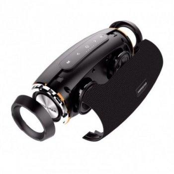 Потужна портативна bluetooth колонка Sound System H27 Pro Hopestar Чорна