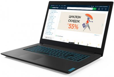 Ноутбук Lenovo IdeaPad L340-17IRH Gaming (81LL00HARA) Granite Black