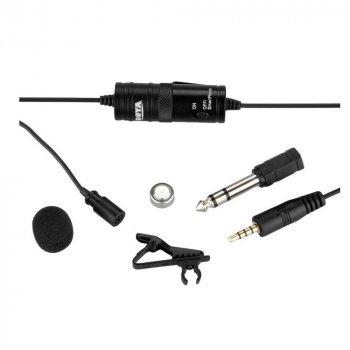 Петличний мікрофон Boya BY-M1 для телефону, камери, комп'ютера (6м кабель) (48054)