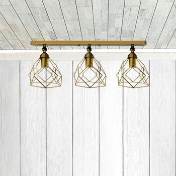 Світильник настінний Electropark, бра поворотне, стельова лампа RUBY/LS-3 золото (LS-0000480)