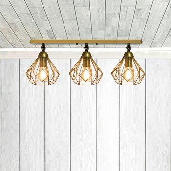 Світильник настінний Electropark, бра поворотне, стельова лампа SKRAB/LS-3 золото (LS-0000484)