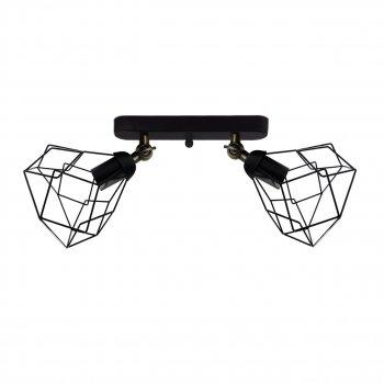 Світильник настінний Electropark, бра поворотне, стельова лампа RUBY/LS-2 чорний (LS-0000463)