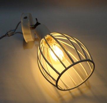 """Світильник настінний Electropark, спот поворотний, стельова лампа, на одну лампу, білий колір """"CACHE/LS-W"""" (LS-000122228)"""