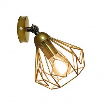 Світильник настінний Electropark, бра поворотне, стельова лампа SKRAB/LS золото (LS-0000460)