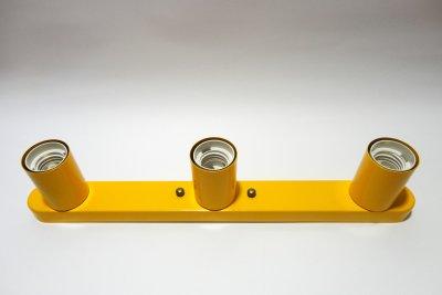 Світильник настінний Electropark, стельова лампа, мінімалізм, стандартний цоколь, помаранчевий колір (LS-0001223)