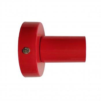 Світильник настінний Electropark, стельова лампа, мінімалізм, стандартний цоколь, червоний колір (LS-0000490)