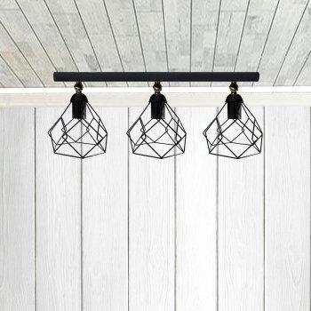 Світильник настінний Electropark, бра поворотне, стельова лампа RUBY/LS-3 чорний (LS-0000476)