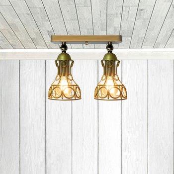 Світильник настінний Electropark, бра поворотне, стельова лампа RINGS/LS-2 золото (LS-0000475)