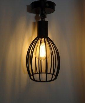 """Світильник настінний Electropark, спот поворотний, стельова лампа, на одну лампу, чорний колір """"CACHE/LS"""" (LS-000122227)"""