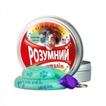 Розумний пластилін Thinking Putty Foxfire зелений фантом (ti17002 / 1) (10-533858)