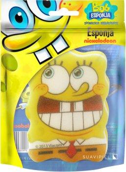 Губка для душу Suavipiel Sponge Bob Губка Боб (8410262908099)