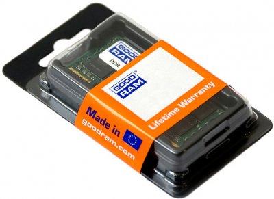 Оперативна пам'ять sodimm GoodRam DDR3 8GB 1600MHz (GR1600S364L11/8G) (6105425)