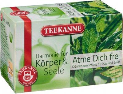 Чай травяной пакетированный Teekanne Гармония Свободное дыхание 20 пакетиков (9001475490519)