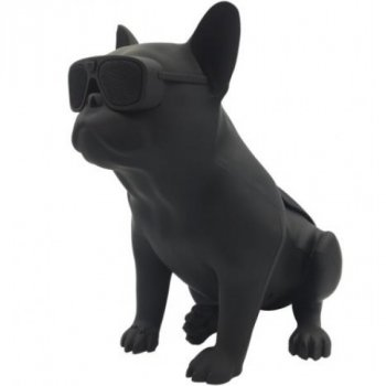 Bluetooth-колонка Aerobull S4 BIG DOG METALLIC c радіо , USB , чорна