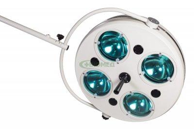 Хирургический светильник Биомед L734-II четырехрефлекторный передвижной (2417)