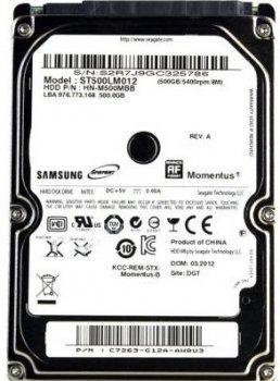 """Жорсткий диск (HDD) Seagate 2.5"""" 500GB (# ST500LT012-FR #)"""