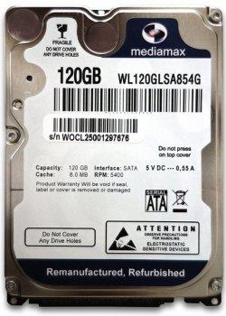 Жорсткий диск (HDD) Mediamax 5400rpm 8MB (WL120GLSA854G) (WL120GLSA854G)