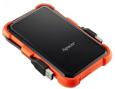 Жорсткий диск (HDD) Apacer AC630 1TB USB 3.1 Orange (AP1TBAC630T-1)