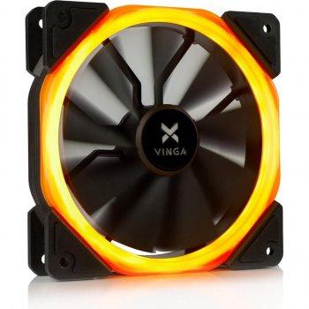 Кулер Vinga LED fan-01 orange