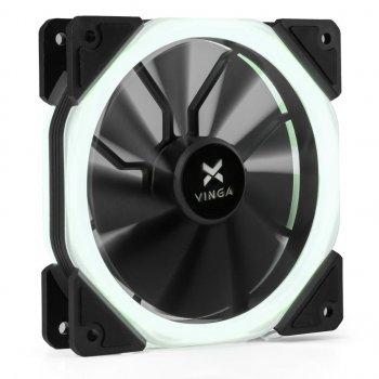 Кулер Vinga LED fan-02 white