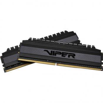 Оперативна пам'ять DDR4 16GB (2x8GB) 3200 MHz Viper 4 Blackout Patriot (PVB416G320C6K)