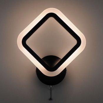 Бра 4light 2400/1 Black LED 18W