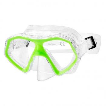 Детская маска для плавания (928194) Spokey Салатовый 000122637