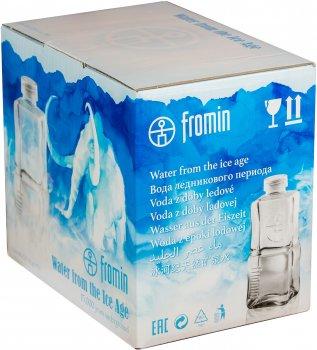 Упаковка воды ледникового периода питьевой негазированной Fromin Ledovka Water Glass 0.75 л х 6 бутылок (8594161671671)