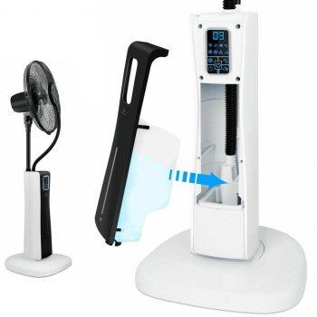 Напольный вентилятор с ультразвуковым водным распылителем Kesser KE-15406 Черный с белым