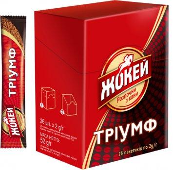 Кофе растворимый Жокей Триумф в стиках 26 x 2 г (4823096805399)