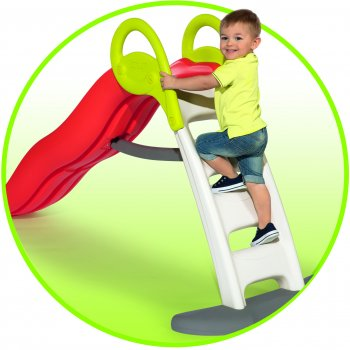 Горка Smoby Toys Веселая волная с водным эффектом Оранжевая 200 см (820402) (3032168204027)