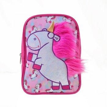 Рюкзак детский Yes К-18 Minions Fluffy (557817)