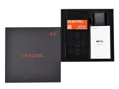 Мобильный телефон Oukitel WP10 (8+128Gb, АКБ 8000 мАч, 5G) Black