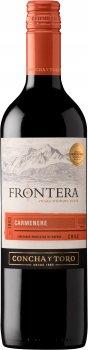Вино Frontera Carmenere красное полусухое 0.75 л 12% (7804320135854)