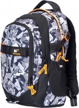 Рюкзак молодіжний YES T-59 Level Up чоловічий 0.8 кг 31x47x20 см 29 л Чорно-білий (558351)