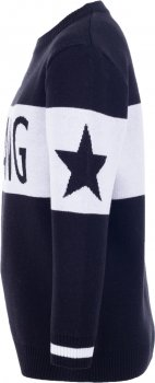 Джемпер Flash Gang 19BG120-7-1850 Чорний з білим