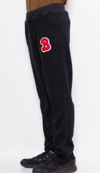 Спортивные штаны прямые с нашивкой ISSA PLUS GN-333  Черный ( GN-333 )